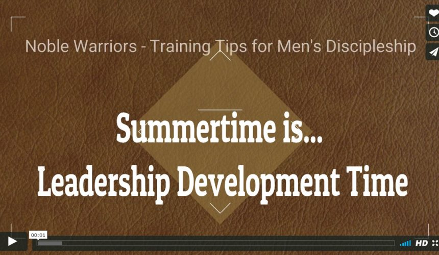 Summer is for Leadership Training! [Podcast]
