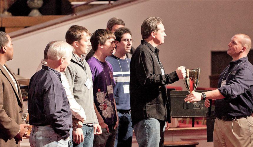 Mechanicsville Christian Center Rocks Men's Discipleship!