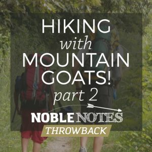 Hiking with Mountain Goats! Part 2