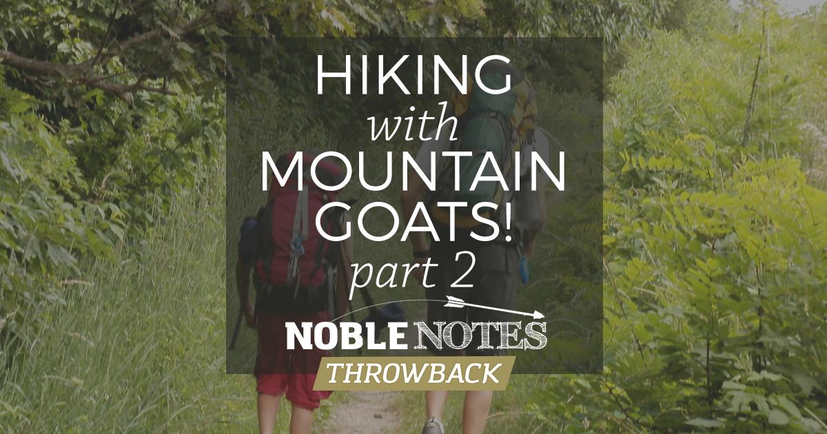 Mountain Goats Part 2