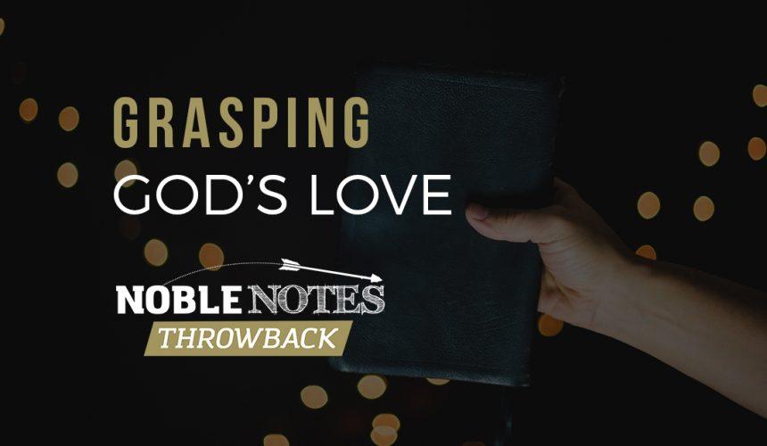 Grasping God's Love