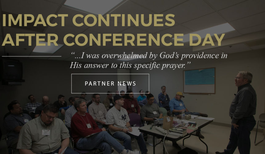 Impact Continues After Conference Day