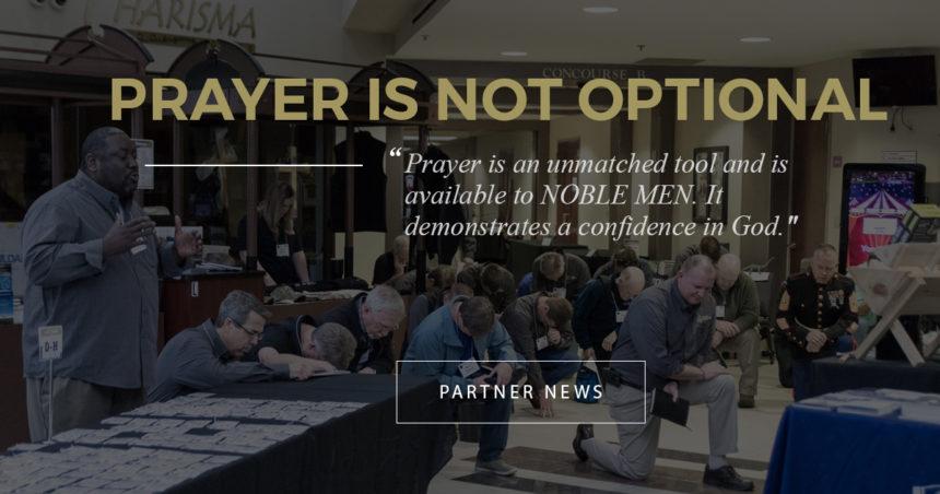 Prayer is Not Optional