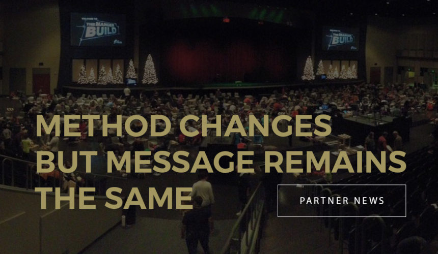Method Changes But Message Remains the Same