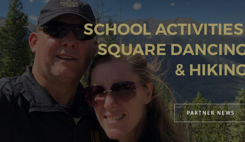 School Activities, Square Dancing & Hiking