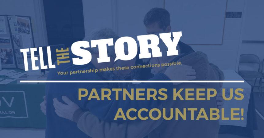 Partners Keep Us Accountable!
