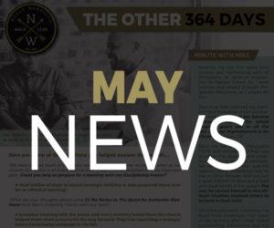 May 2019 NEWS