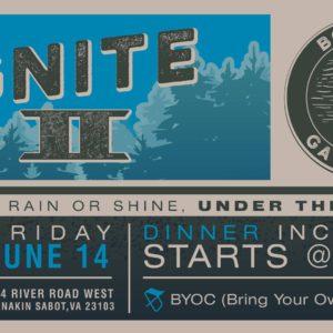 Ignite II Bonfire Gathering on June 14