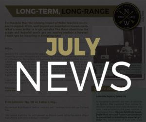 July 2019 NEWS