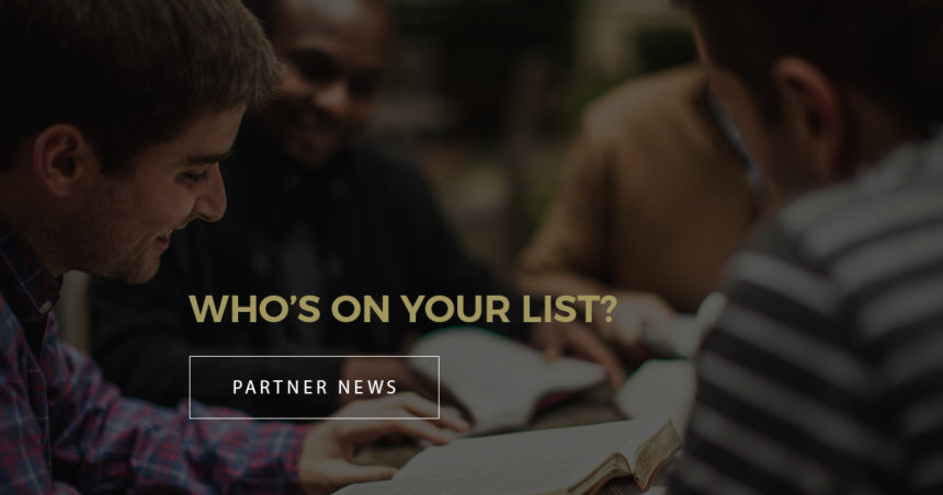 Who's On Your List?