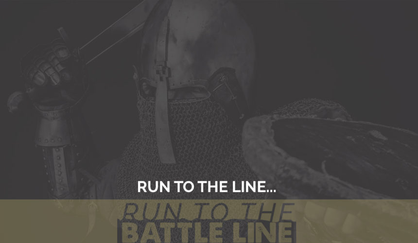 Run to the Line…