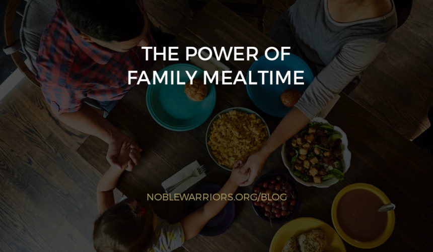 The Power of Family Mealtime [Podcast]